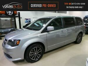 2018 Dodge Grand Caravan GT GT| POWER DOORS| LEATHER| HEATED...