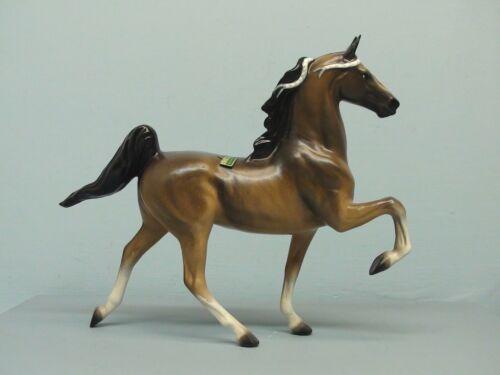 Old Hagen Renaker DW Small Saddlebred Horse Honora w/ Name Tag