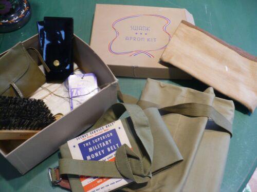 WWII U.S. Army, WWII U.S. Military Apron Kit