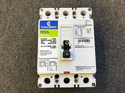Challenger Circuit Breaker 50 Amp 600v 3 Pole Cfh3050