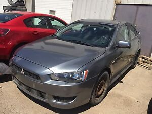 2012 Mitsubishi Lancer All wheel drive mechanical special