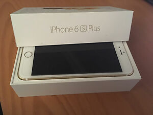 Mint Gold iPhone 6S Plus 64GB Bell/Virgin Locked