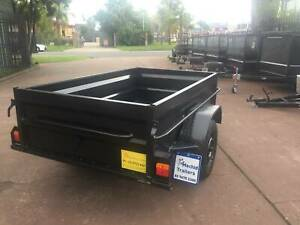 7x4 Box Trailer High Side with 12 months NSW REGO On Road $1000 Minchinbury Blacktown Area Preview