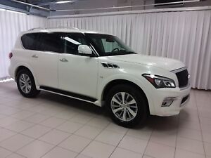 2016 Infiniti QX80 HURRY IN TO SEE THIS BEAUTY!! 5.6 L 4WD 8PASS