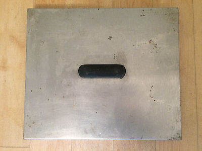 COMMERCIAL RESTAURANT CATERING DEEP FAT FRYER LID WIDTH 355mm LENGTH 305mm