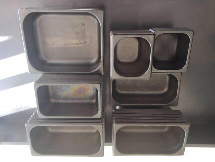 50 x Stainless Steel Bain Marie Gastronorm Pans Trays MEGA DEAL!