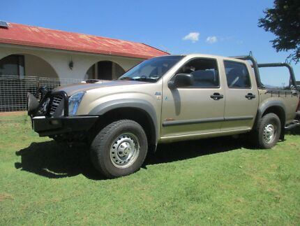 2007 DUAL CAB 4X4  3.0 LITRE TURBO DIESEL  HOLDEN RODEO UTE