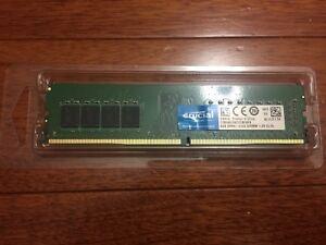 Crucial 4x 8GB ram memory DDR4 sticks