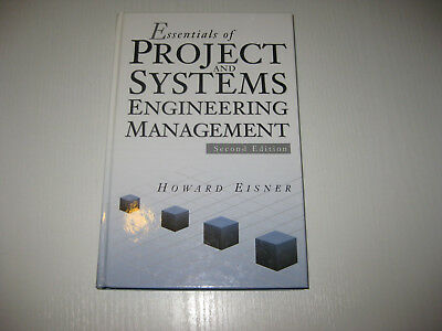 Essentials of Project and Systems Engineering Management von Howard Eisner (2002 ()
