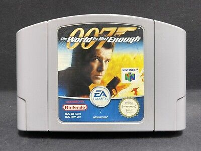 N64 Nintendo 64 Game - James Bond 007: The World Is Not Enough - PAL