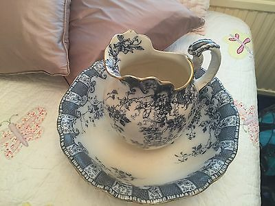 Royal Doulton Victorian Jug And Bowl