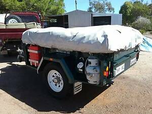 """2008 """"Outback Deluxe"""" Challenge Camper Trailer Crystal Brook Port Pirie City Preview"""