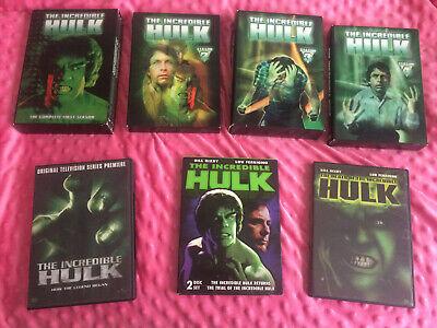 The Incredible Hulk DVD Series Lou Ferrigno