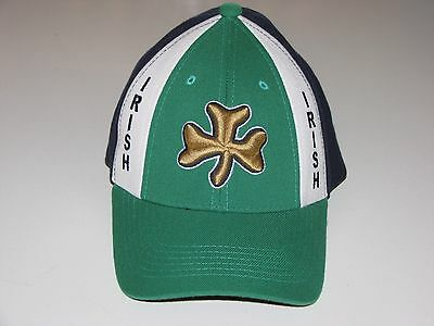 University of Notre Dame Irish Hat, Cap sz 6 5/8 - 7 1/8 - Damen Spandex Cap
