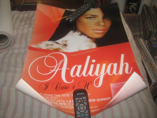 Aaliyah-(i care 4 u)-1 POSTER-18X24 INCHES-NMINT-RARE!!!
