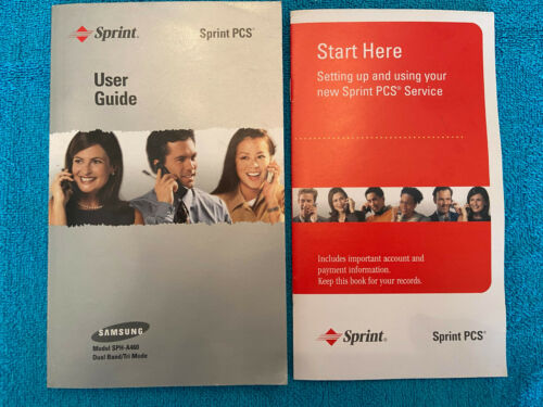 SAMSUNG MODEL SPH-A460 FOR SPRINT PHONE OWNERS MANUEL GUIDE 156 PAGES ENGLISH