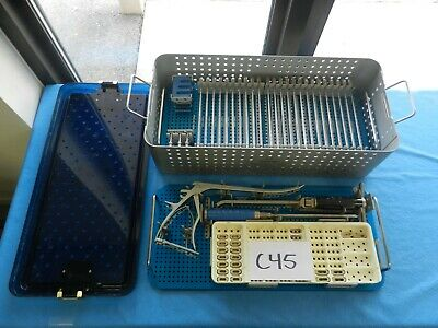 Alphatec Spine Surgical Orthopedic Spinal Novel Sd Instrument Set W Case