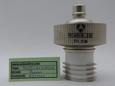 Senderöhre Power tube 4CX1500B  / TH215 Thomson, CSF, France NOS, NIB,