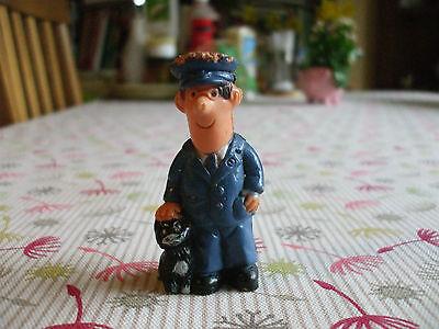 Postman Pat and Jess figurine, 1980's