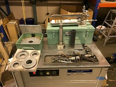 Ametek Model T-50 10-500 100-5000 Dead Weight Pressure Tester With Weights