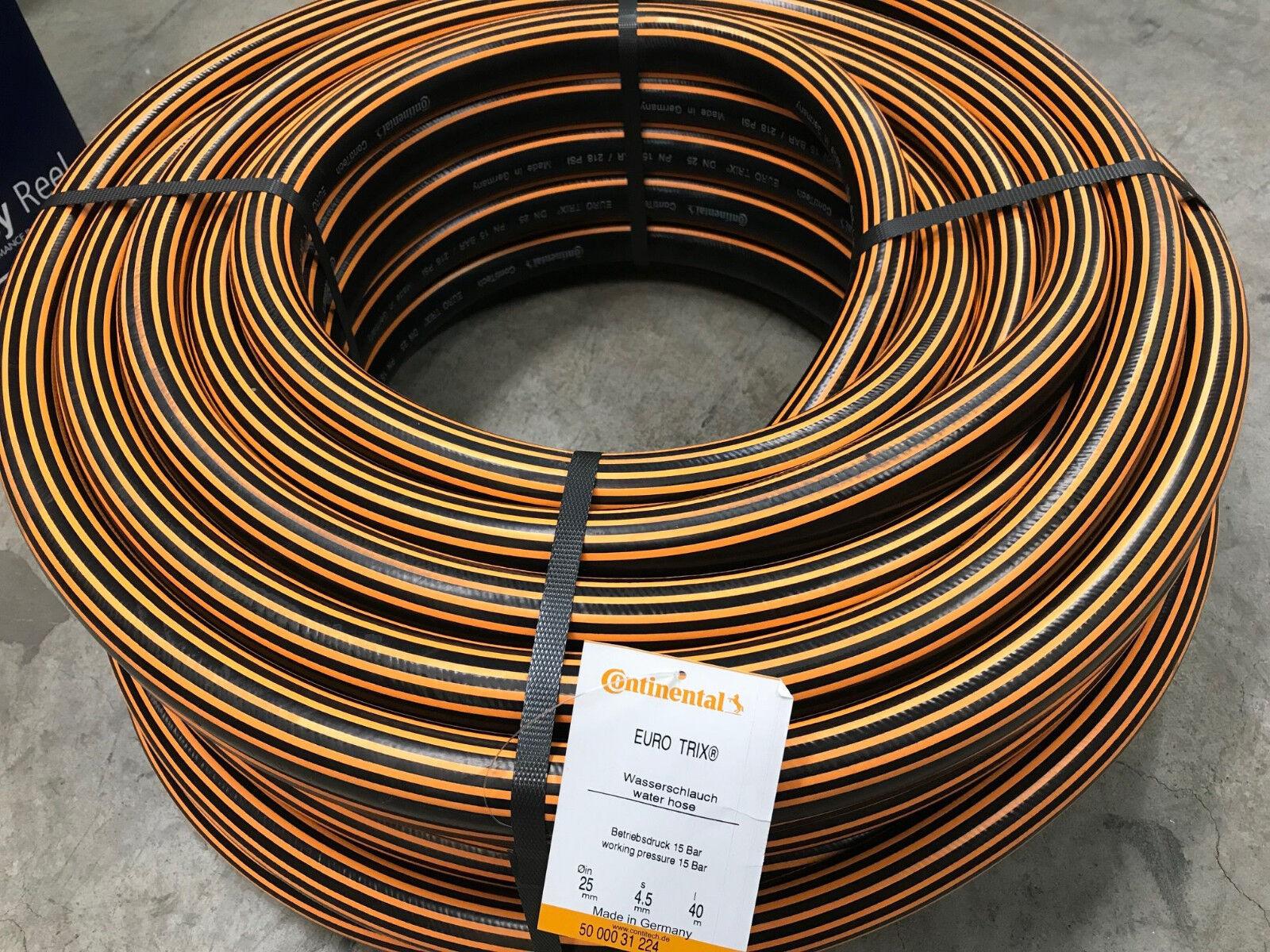 "Wasserschlauch EURO TRIX 3/4"" 19mm Contitech Eurotrix Gummi Gartenschlauch"