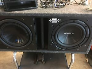 """10"""" Subs and Amp"""