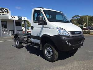 Iveco Daily 55 S17 Iveco Daily 4X4 Cab chassis Glanmire Gympie Area Preview