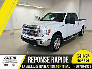 2014 Ford F-150 XLT, 4X4, BLUETOOTH, V8 CREW CAB!