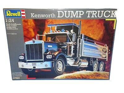 REVELL KENWORTH DUMP TRUCK 1:24 CHROME DUMP BOX 07523