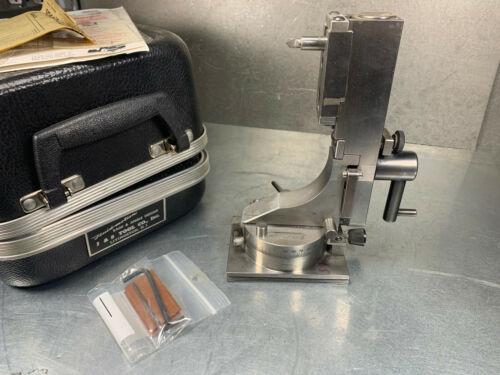J&S Tool Radii & Angle Grinding Wheel Dresser Diamond w/ Case F750A