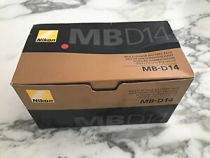 Nikon D610 genuine battery grip (Never used) Earlwood Canterbury Area Preview