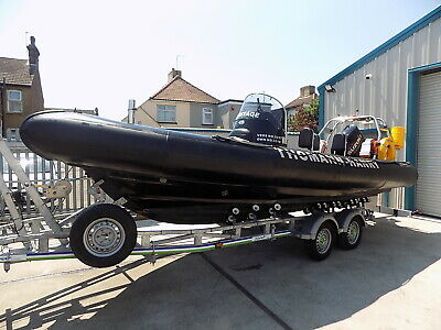 Rib Craft 6.5 Metre Commercial Coded Boat