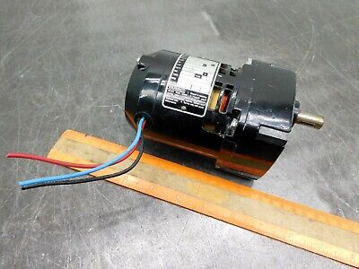 Bodine Electric Nci-11d4 Gear Motor 115 Volts 1-phase Gearmotor 17 Rpm