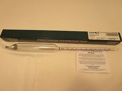 Vwr Astm Hydrometer .800 - .850 Brand New Unused