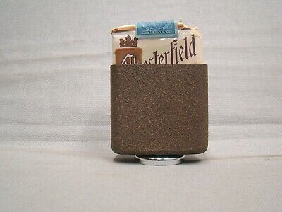 vintage brown hold a pak vintage magnetic bottom cigarette pack holder