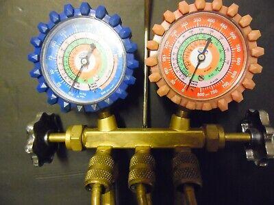 Uniweld Ac Testing Manifold Gauges R410a W Hoses