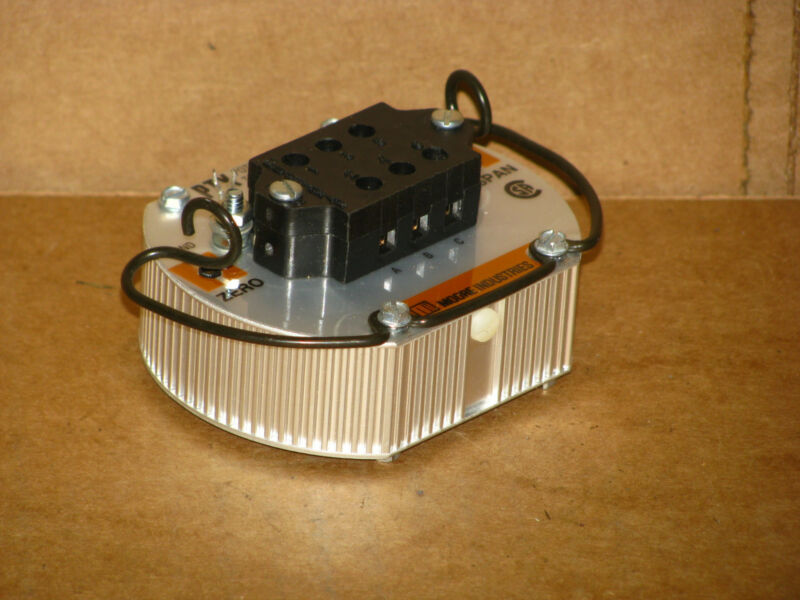 New Moore Industries PTX/3K-0-100/4-20MA/12-42DC Potentiometer Transmitter