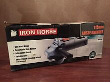 NEW IN BOX Iron Horse 115mm Angle Grinder Highbury Tea Tree Gully Area Preview
