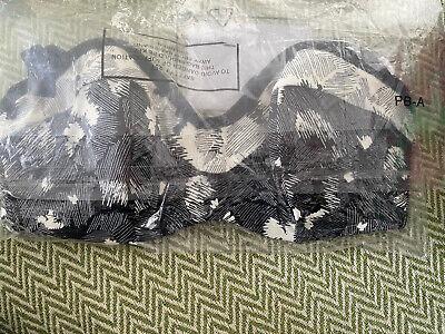 Panache Bikini Oberteil Blumen Print Gr.65D,schwarz Weiss Neu mit Etikett