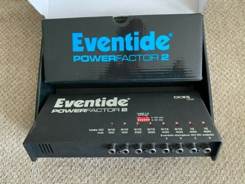 Eventide PowerFactor 2 Pedalboard Power Supply