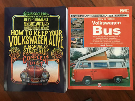 Volkswagen Books x 2 as new condition