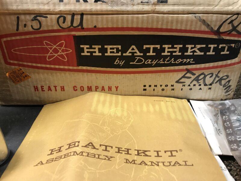 NOS Heathkit Preamplifier AA-131 unused tube kit time-warp 1961 hifi vintage NEW