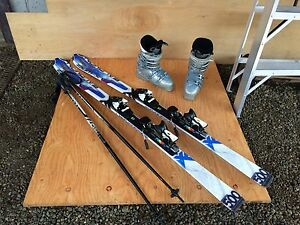Salomon ski package
