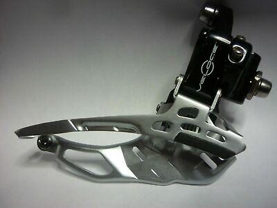SAchs Front Derailleur Braze-on Adapter Clamp 31.8mm Silver Aluminium Strong
