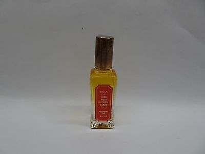 Wild Musk Patchouli by coty Blend Pure Perfume Oil - 0.5 oz new unboxed Coty Wild Musk Perfume