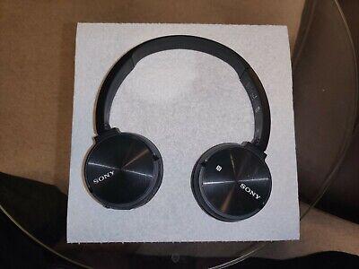 Sony MDR-ZX330BT Wireless Bluetooth NFC On Ear Headphones - Black