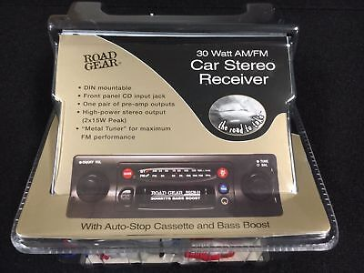 Double Shafted Cassette Car Stereo