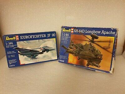 Revell 1/144 AH-64D Longbow Apache 04046 // Eurofighter JF90 04074