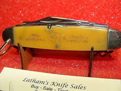 NEW YORK KNIFE CO. HAMMER BRAND--1931--BUFFALO BILL GREAT SCOUT---WATERFALL