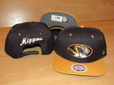 Zephyr Missouri Tigers Mizzou Adjustable Original Snapback Hat Cap Size Men's